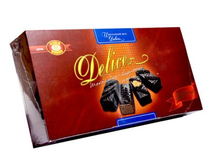 Delice Chocolate and Wafer Cake, 500g