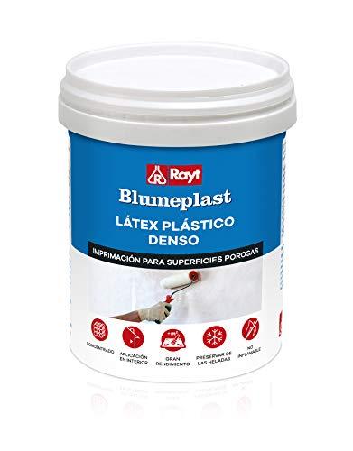 Rayt 157-09 Blumeplast M-20: Látex plástico denso, sellador de superficies de yeso, cemento, estuco, madera, y sellante para manualidades. Secado transparente. 1 kg, 1kg