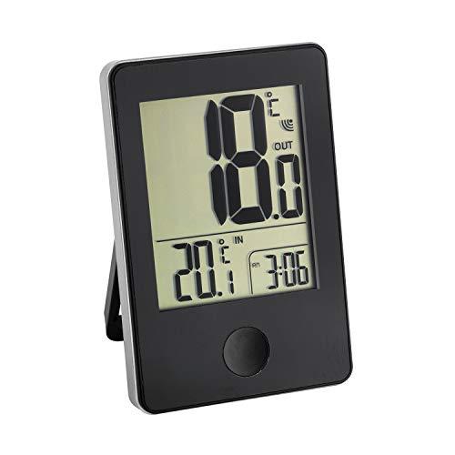 SELVA Funk-Thermometer POP, Messgerät für Außen- und Innentemperatur, kabellos, Übertragung bis zu 50 Meter