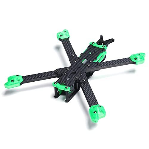 VIKEP XL5 HD 25.0mm 5 Pollici.FPV.Cornice Freestyle con Braccio da 6 mm Compatibile Xing 2208.Adatto for FPV.Parte del Drone Freestyle. (Color : HD Version)