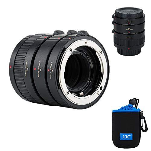 JJC 接写リング デジタル接写リングセット Nikon F マウント用 D850 D750 D780 D3500 D3400 D7500 D7200 D7100 D7000 D5600 D5500 D5300 D5200 D5100 D5000 D330