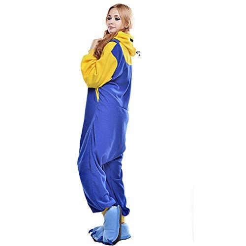 HQ-PJS Monopezzi Animal Onesies Pajamas Sleepwear Unisex...