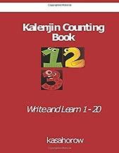 Kalenjin Counting Book: Write and Learn 1 - 20 (Kalenjin kasahorow)