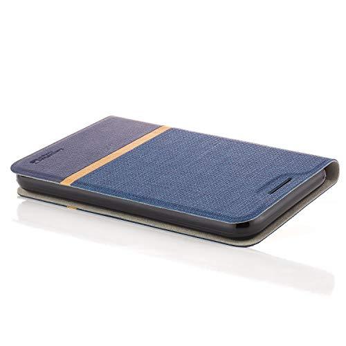 zanasta Tasche kompatibel mit Huawei Nova 2 Plus Hülle Flip Case Schutzhülle Handytasche mit Kartenfach Blau - 2