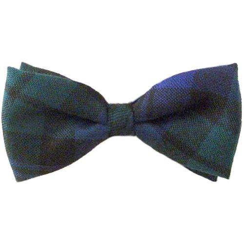 Ingles Buchan - Noeud papillon en laine - pour homme - tartan écossais - Black Watch - Taille unique