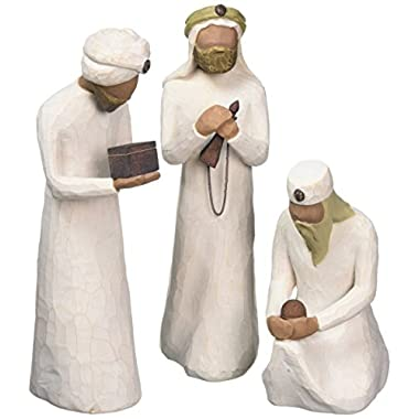 Willow Tree 8.5-Inch Resin and Metal The Three Wisemen for the Nativity Figurines