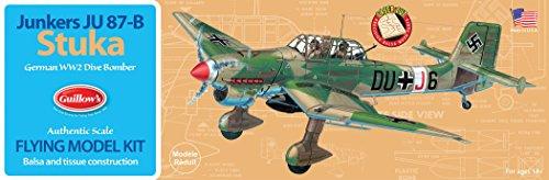 Guillow's Junkers JU 87-B Stuka Model Kit