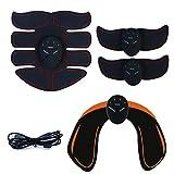 BEIAKE USB De Carga Eléctrica Muscular Estimulador EMS Inalámbrico Las Nalgas De La Cadera Entrenador Abdominal ABS Estimulador Cuerpo De La Aptitud Adelgazamiento Masajeador,8