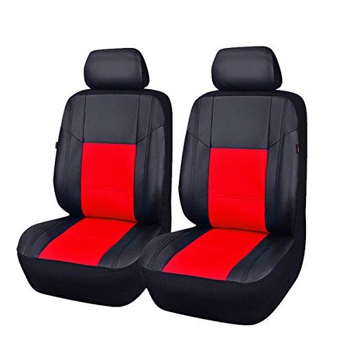 CAR PASS Fundas de asiento de coche de piel sintética nuevo coche de Arrival- Pass Skyline – Ajuste Universal para coches, SUV, vehículos