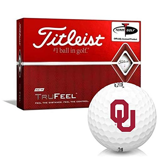 Buy Titleist TruFeel Oklahoma Sooners Golf Balls