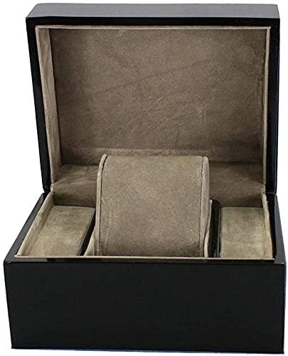 J&X Black Wooden Watch Box/Bangle Pillow Box es una Buena opción para Regalos de cumpleaños y Regalos de Fiesta