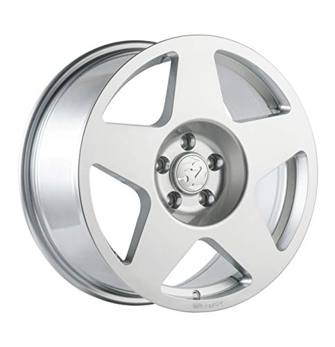 Fifteen52 FF03 Speed Silver Wheel with Painted (17 x 9. inches /5 x 100 mm, 45 mm Offset)