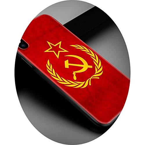 Phone Case for iPhone 12 Mini 11 Pro MAX 7 8 XR X XS MAX 6 6S 7 8 Plus SE 2020 TPU Soft Cover Russia Flag Emblem Shell Capa