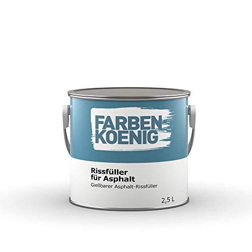 Farben-König Rissfüller für Asphalt 2,5L
