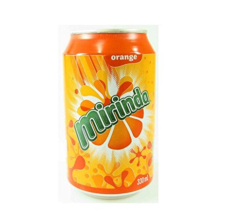 MIRINDA Orange 24x 330ml - kohlensäurehaltige Limonade mit frisch, fruchtigem Orangengeschmack!