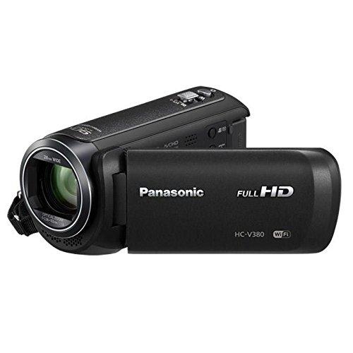 Panasonic HC-V380EF-K - Camcorder (2,51 MP, MOS BSI, 25,4/5,8 mm (1/5.8 Zoll), 2,2 MP, 2,2 MP, 50x)