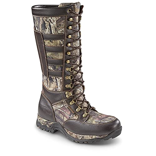 Guide Gear Snake Boots For Men, Rubber Hunting Boots Waterproof & Snake Proof, 12D (Medium)