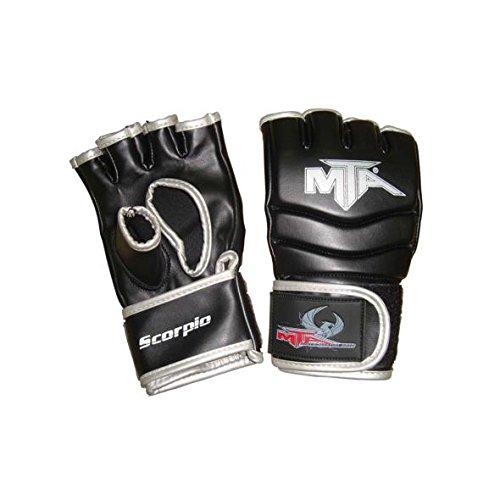 Montana Scorpio MMA Handschuhe, Unisex, Erwachsene, Schwarz