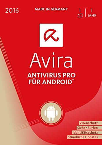 Avira AntiVirus Pro Android 2016 - 1 Gerät / 1 Jahr