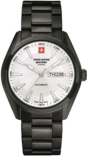 Swiss Alpine Military Reloj de pulsera automático para hombre con cristal de zafiro Selitta SW220 7090.2172