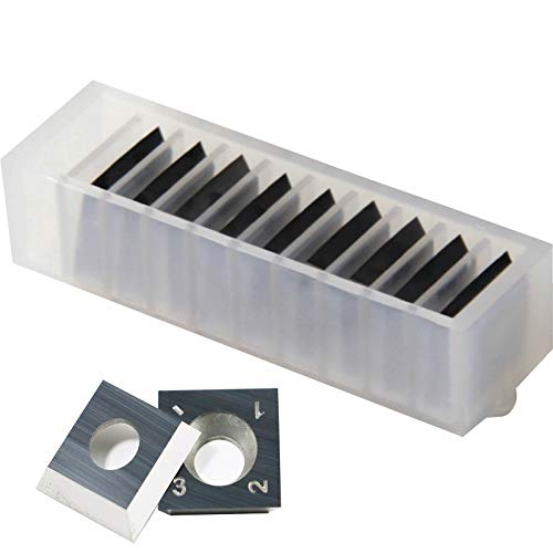 15mm x 15mm x 2.5mm -30 Degree Carbide Cutter Insert for Jointers and Shelix Cutterheads - Box of 10