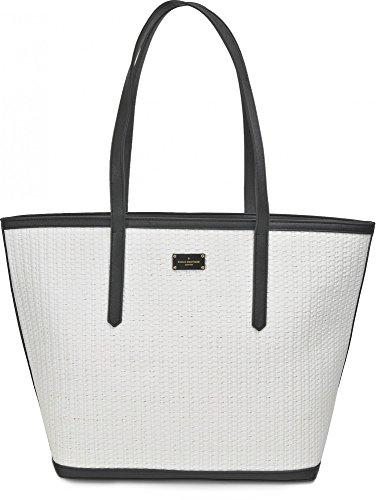 Pauls Boutique, Cleo, dames handtassen, schoudertassen, shopper, strandtassen, handtassen, wit, 50 x 35 x 19 cm (B x H x D)