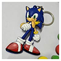 キーチェーン アニメKey Chain 3D二重サイドキーホルダーPVCゴム漫画キーホルダーキッズ玩具キーホルダートリンケットギフト (Color : 11)