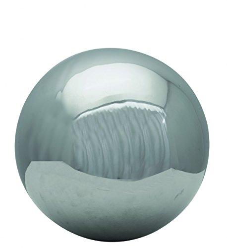 Starke Dekokugel Edelstahl Kugel Silber Gartenkugel Schwimmkugel Dekorationskugel, Durchmesser/Ausführung:20 / poliert