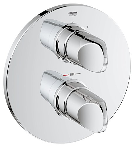 GROHE Veris 19369000 thermostaat douchekop, kant-en-klaar montageset, chroom