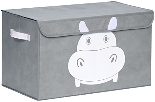 Katabird Storage Bin for Toy Storage - Large - Collapsible Chest Box Toys Organizer with Lid for Kids Playroom, Nursery, Baby Clothing, Children Books, Stuffed Animal, Gift Baskets