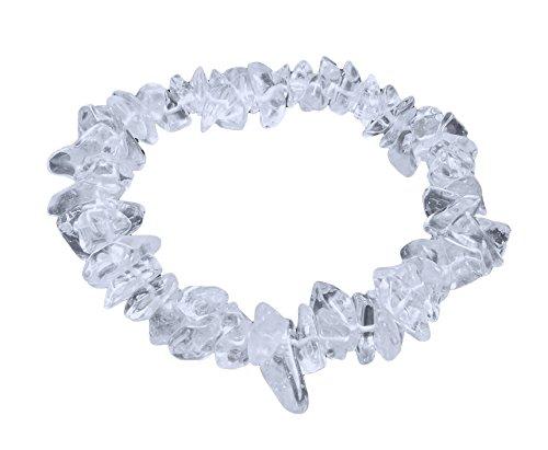 Bergkristallsplitter-Armband