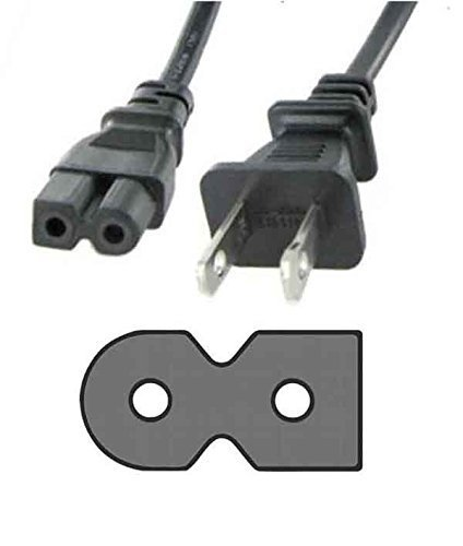 PlatinumPower AC Power Cable Cord for Sony Boombox CFD-S22, CFD-G70, CFD-D73, CFD-D75, CFD-DW83, CFD-775