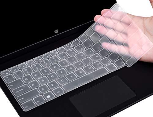 CaseBuy Schutzhülle für Dell Latitude E7250 E7270 7280 7290 E5250 E5270 12,5 Zoll/Dell Latitude 7370 7380 7389 7390 13,3 Zoll Laptop, staubdicht, Silikon farblos