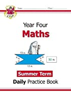 New KS2 Maths Daily Practice Book: Year 4 - Summer Term