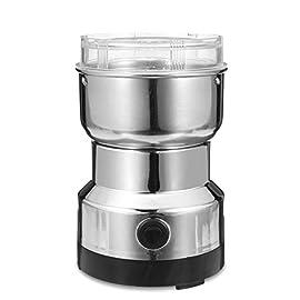 YOUCHOU Coffee Grinder, Electric Bean Grinder,Electric Grain Grinder Coffee Bean Seasonings Multifunction Smash Machine…