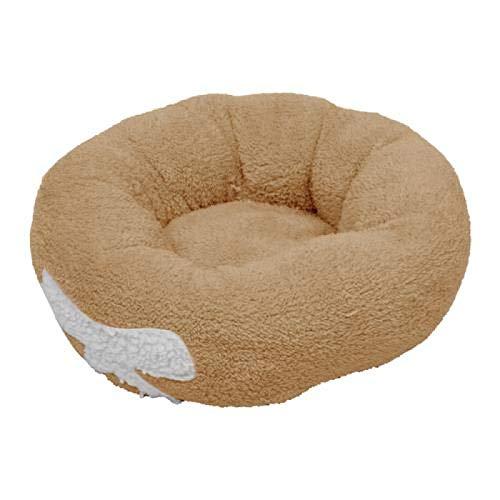 Winne Franela y algodón lavables del tamaño grande de la cama del perro para la jaula del coche y del perro
