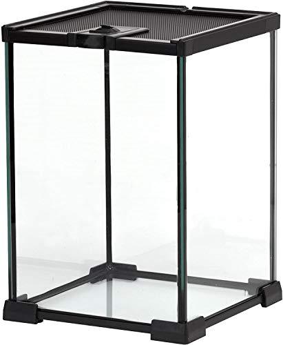 爬虫類飼育ケージ 亀 トカゲ ヘビ飼育ボックス 小動物ハウス 保温ケース お手入れ簡単 一体式組み立て不要