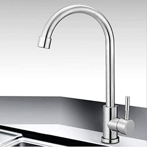 Grifo de 360 grados para agua caliente y fría a prueba de salpicaduras y sin salpicaduras de agua, grifo de ahorro de agua, adecuado para cocina, baño y ducha