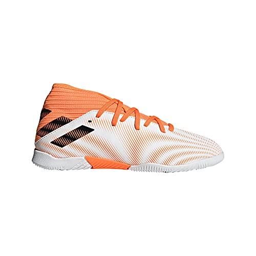 adidas Nemeziz .3 IN J, Zapatillas de fútbol, FTWBLA/NEGBÁS/NARCHI, 36 EU