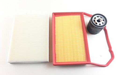 Inspektionskit Filter Kit Filter Set Service Kundendienst Ölfilter Pollenfilter Luftfilter Up Mii Citigo 1.0 1.0 Ecofuel CNG