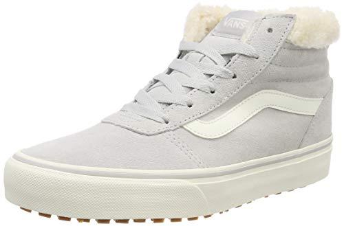 Vans Damen Ward Hi Suede Hohe Sneaker, Grau ((MTE) Antarctica/Shearling Utm), 35 EU