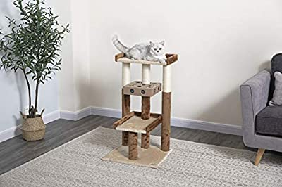 "Go Pet Club IQ Busy Box Cat Tree, 19"" x 20.5"" x 34.5"""