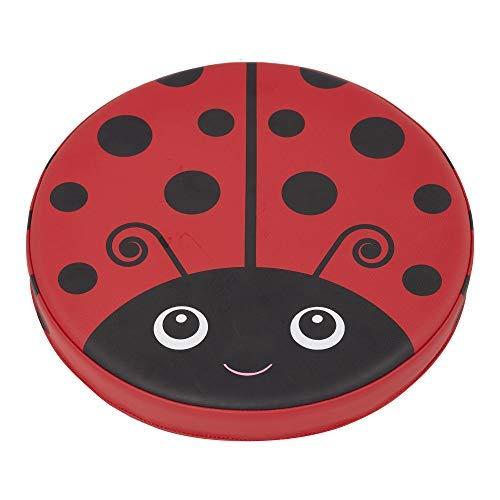 ECR4Kids SoftZone Ladybug Seating Cushions, Alternative Flexible Seating, Floor Cushions for Kids, 4-Pack