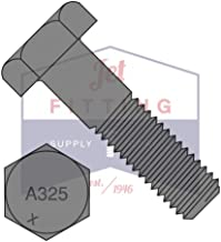 7/8-9X3 1/2 Structural Bolts | A325 | Heavy Hex | Plain | Made in North America (Quantity: 75)