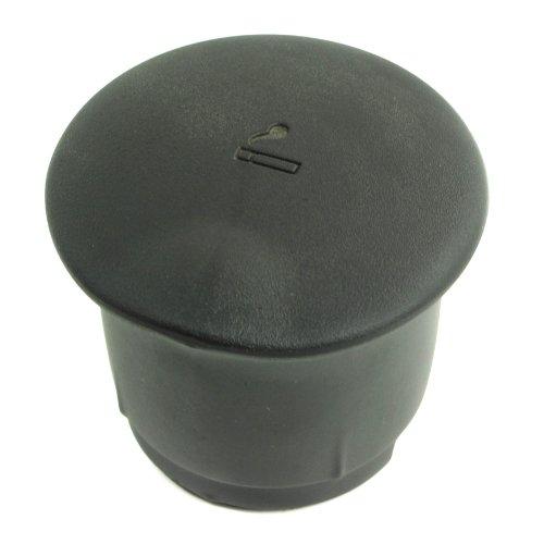 BLACK PLASTIC CUP HOLDER ASHTRAY ASH TRAY