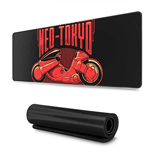 Gaming Mouse Pad,Neo-Tokyo Street Race Champion Akira ,Long Extended Surface for Desktop Pc Computer Work Productivity Or Video Games,Laser Accuracy for Fast Responsiveness,11.8 X 31.5