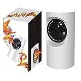 Calefactor Eléctrico Chimney Termoventilador Calefactor Eléctrico Portátil 400W Mini Termoventiladores Calentador De Cerámica