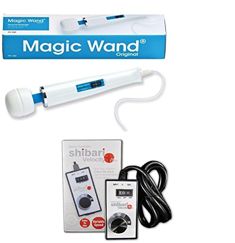 Magic Wand Massager with Shibari Variable Speed Controller