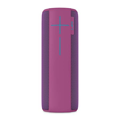 Ultimate Ears Megaboom Tragbarer Bluetooth-Lautsprecher, Satter Tiefer Bass, Wasserdicht, App-Navigation, Kann mit weiteren Lautsprechern verbunden werden, 20-Stunden Akkulaufzeit - plum/lila