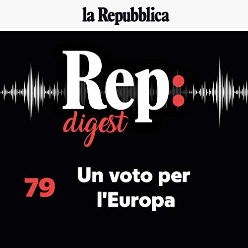 Un voto per l'Europa audiobook cover art